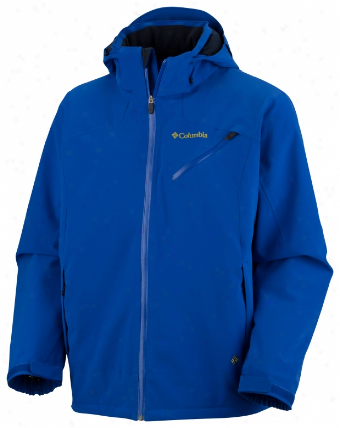 Columbia Wildcard Iv Softshell Jacket Azul