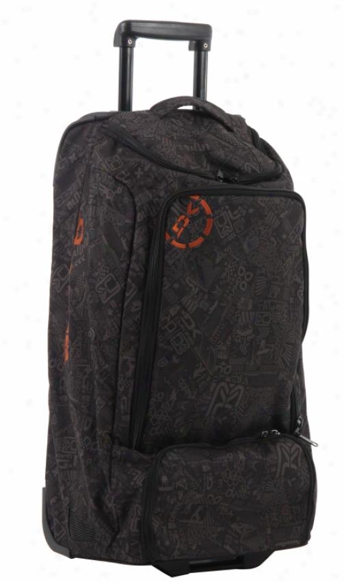 Dakine Ez Traveler 90 Travel Bag Black Chop Shop
