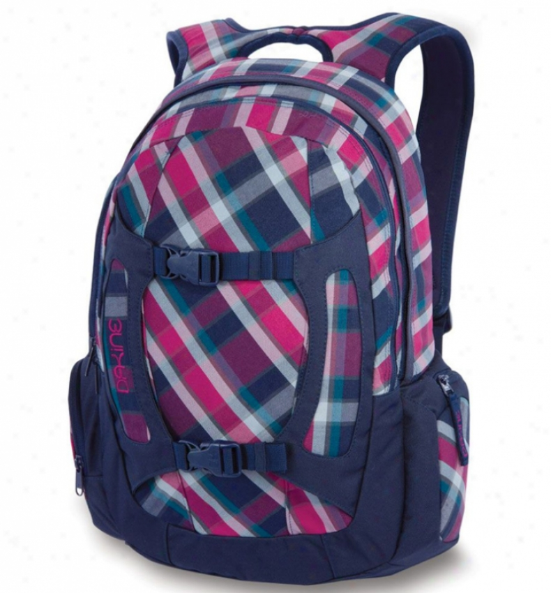 Dakine Girl'q Alpine Backpack Vivienne Plaid/navy
