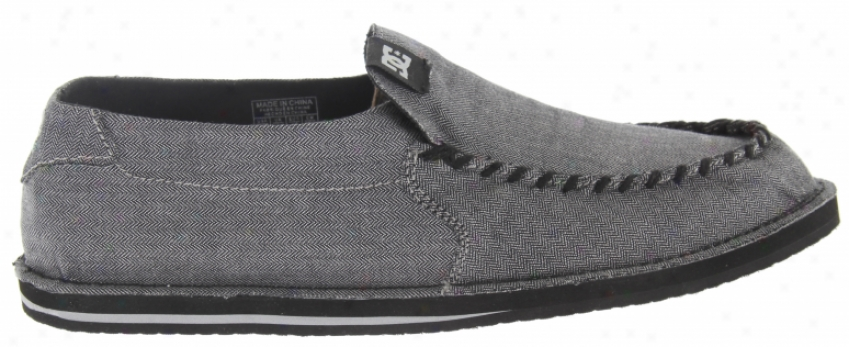 Dc Accent Shoes Black/aromr