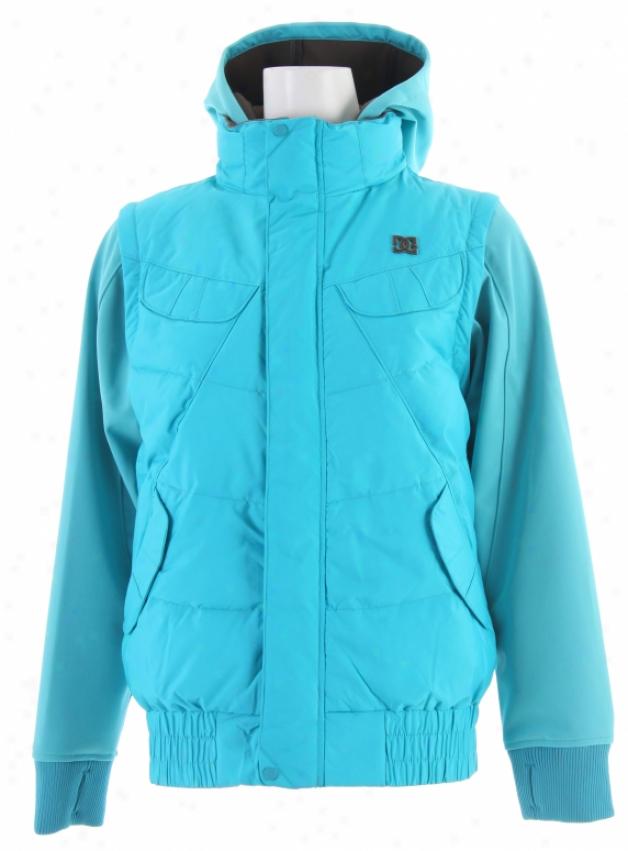 Dc Arolla Snowboard Jacket Aegean