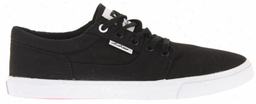 Dc Bristol Canvas Skate Shoes Black/white