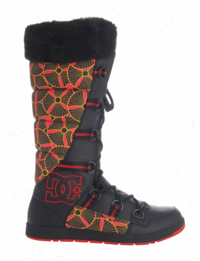 Dc Chalet Slim Casual Boots Black/ath Rde