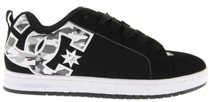 Dc Court Graffik Se Skate Shoes Army/brush/camo