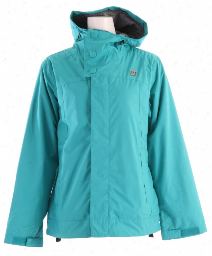 Dc Data Snowbkard Jacket Lake Blue