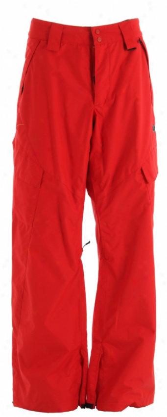 Dc Elko Snowboard Pants Athletic Red