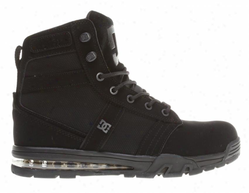 Dc Lieutenant Wr H2zero Skate Shoes Black/gold