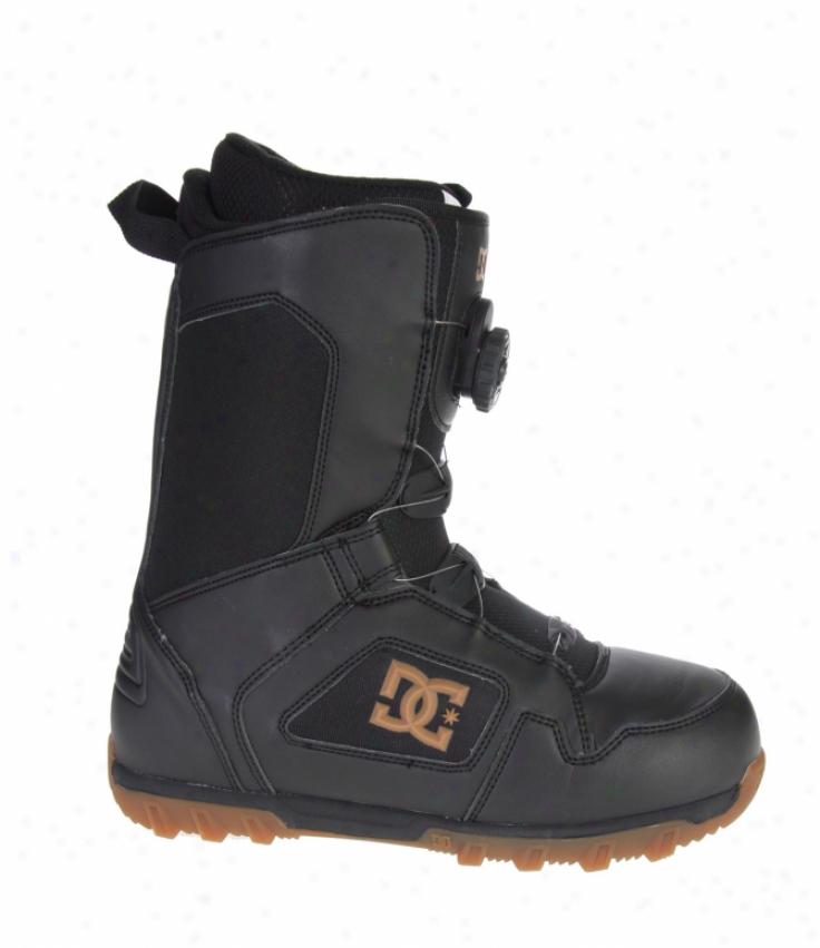 Dc Scout Boa Snowboard Boot Black/gum