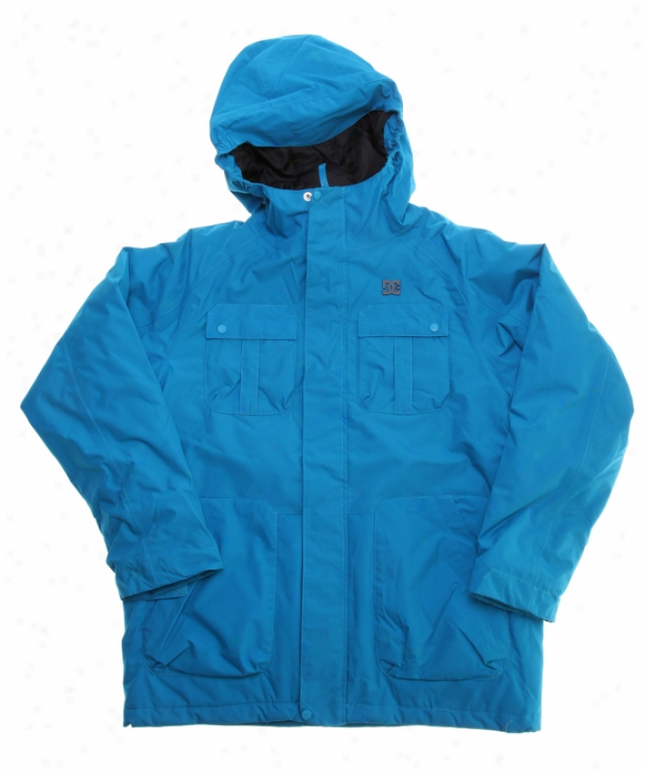 Dc Servo K Snowboard Jacket Blue Jewel