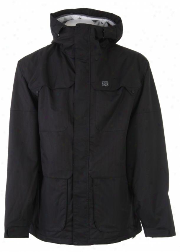 Dc Servo Snowboadd Jacket Black