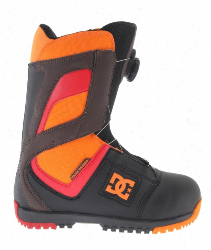 Dc Super Park Boa Snowboard Boots Black/citrus