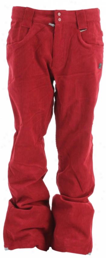 Dc Tabor S Snowboard Pants Biking Red