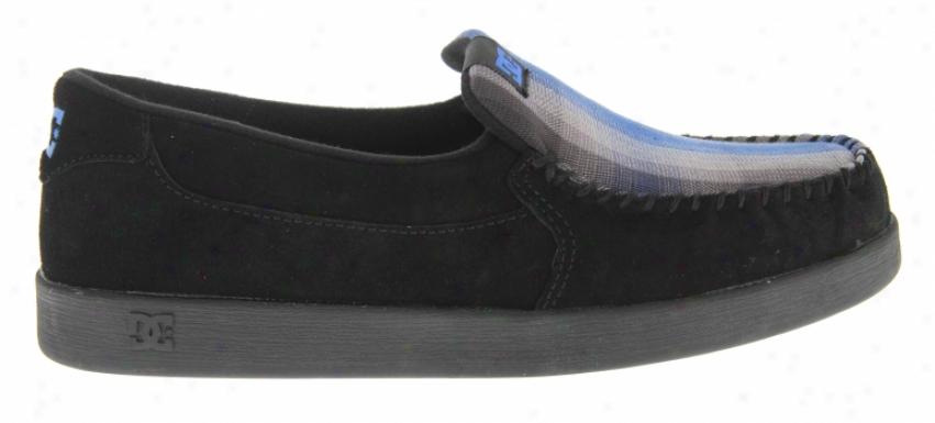 Dc Villain Shoes Black/rogal