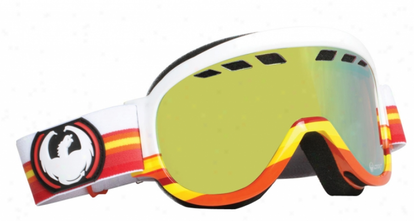 Dragon D1xt Snowboard Goggles Astros Throwback/gold Ionized Lens
