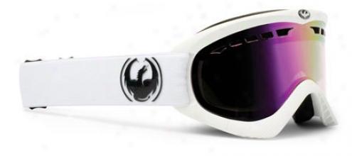 Dragon Dxs Snowboard Goggles Powder/pink Ionized Lens