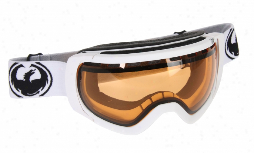Dragon Rogue Goggles Powder/amber Lens
