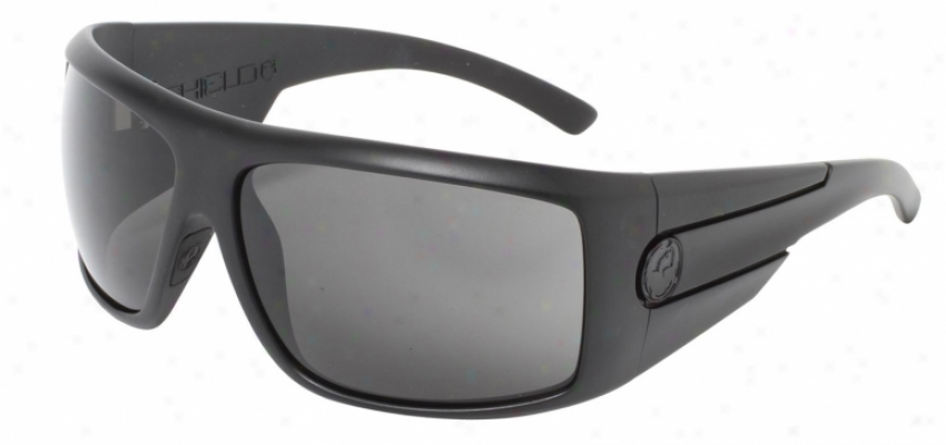 Dragon Shield Sunglasses Jet/grey Lens