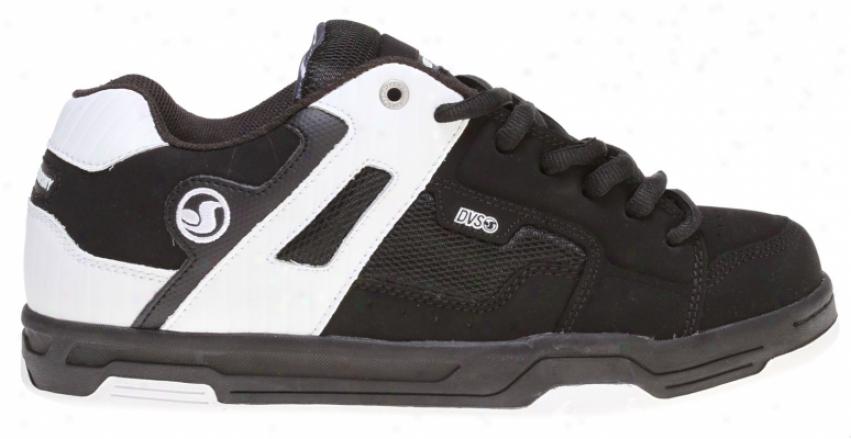 Dvs Enduro Skate Shhoes Black Nubuck Ho2