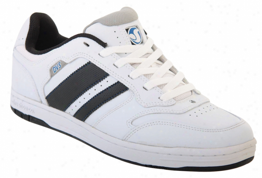 Dvs Triumph Skate Shoes White/black