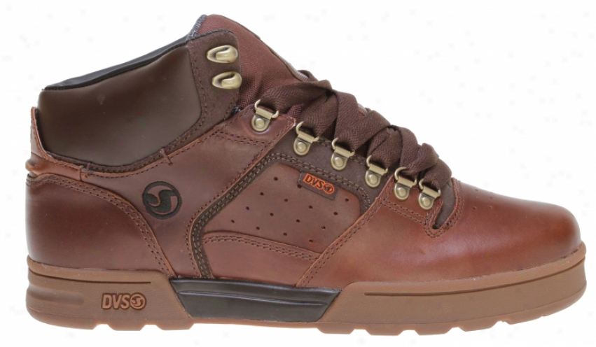 Dvs Westridge Boot Casual Boots Chocolate Oiled Leather