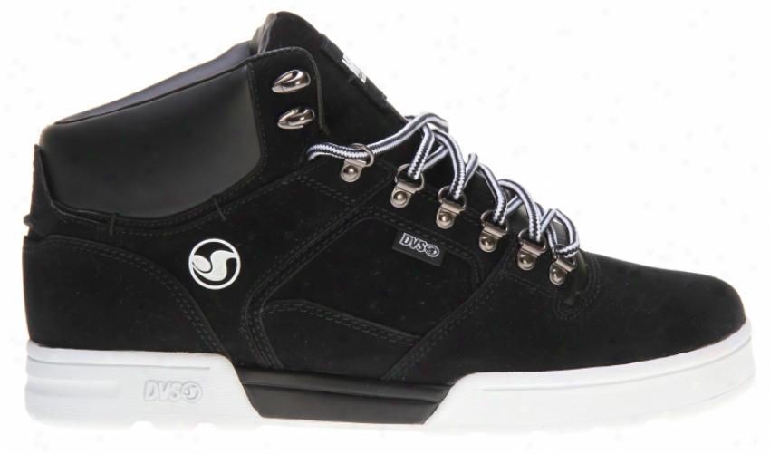 Dvs Westridge Mfm Snow Shoes Black Nubuck Mfm