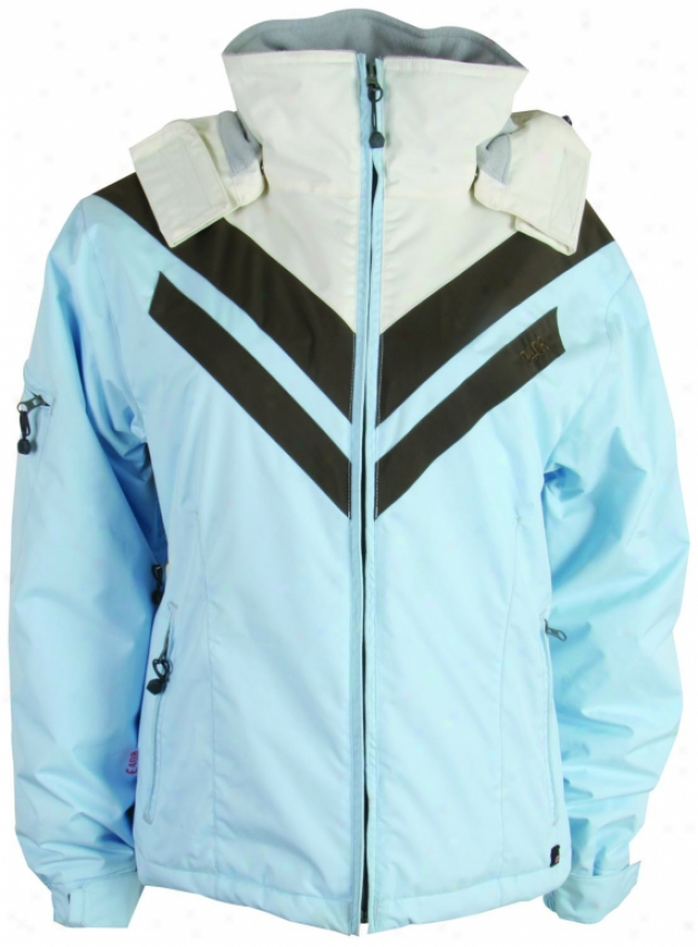 E408 Joan Of Dark Snowboard Jacket Baby Blue/bdarj/cream