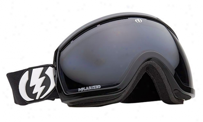 Electric Eg2.5 Snowboard Gogglds Comment Black/grey Polarized Lens