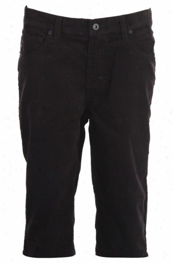 Element Camber Shorts Black