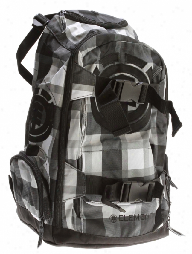 Element Mohave Woodranch Backpack White