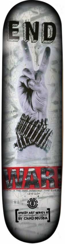 Element Muska War Skateboard Cover with a ~