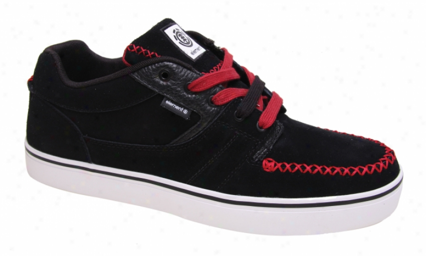 Element Sonora Skate Shoea Black