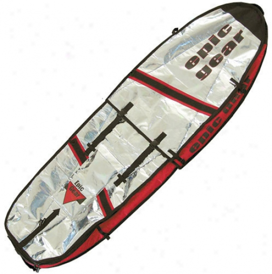 Epic Adjustable Day Wall Windsurf Bag Red 100x230-285cm