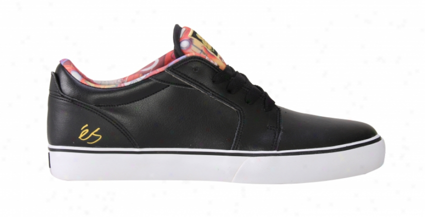 Es First Blood Skate Shoes Black/white/print