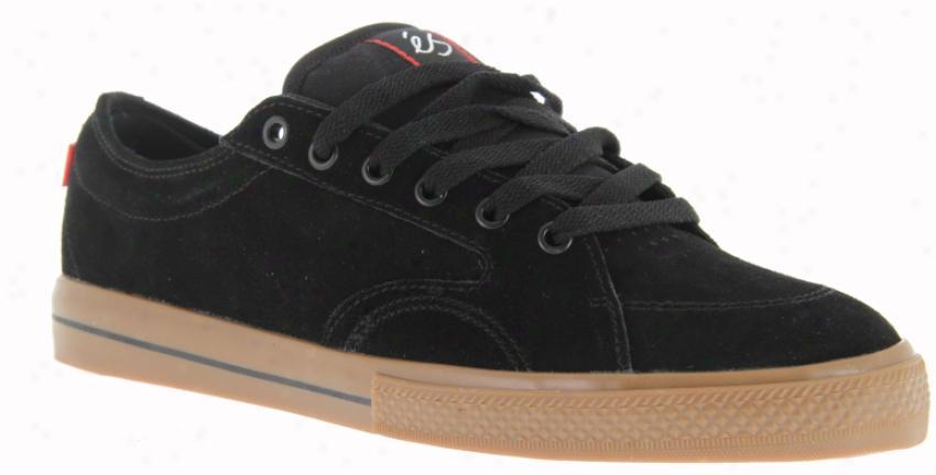 Es Keswick Skate Shoes Black/gum