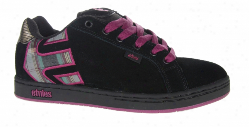 Etnies Fader Shoes Black/black/grey