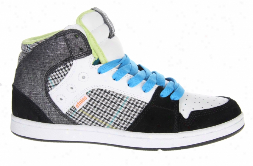 Etnies Perry Mid Shoes Black/grey/white