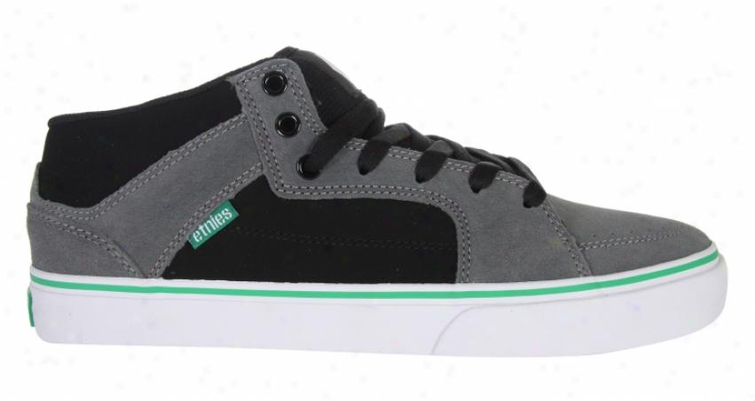 Etnies Portland Skate Shoes Grey/black