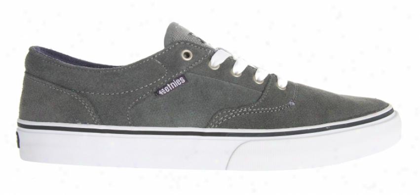 Etnies Taylors Ls Skate Shoes Grey/purple