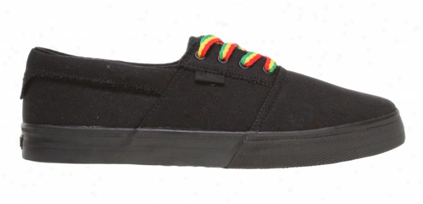 Fallen Coronado Skate Shoes Black-ops