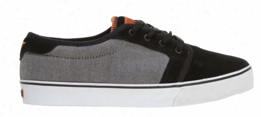 Fallen Forte Skate Shoes Black/chambray