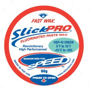Fast Wax Hsp-10 Sllck Pro Paste Wax Green 60g