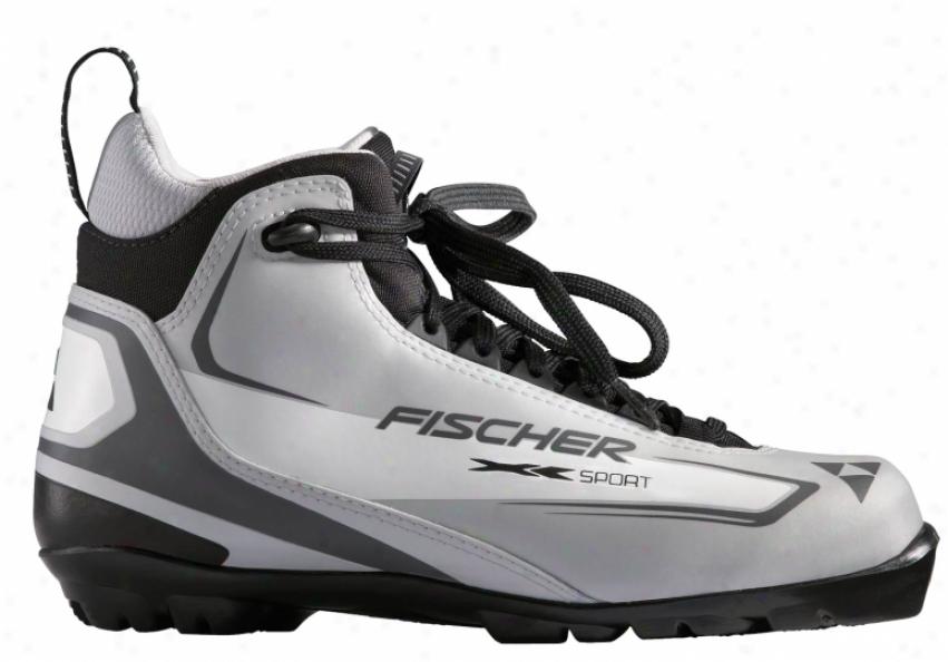 Fischer Xc Sport Cross Country Ski Boots Silver