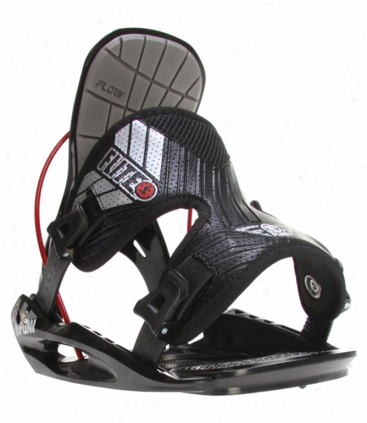 Flow Flite 1 Snowboard Bindings Black