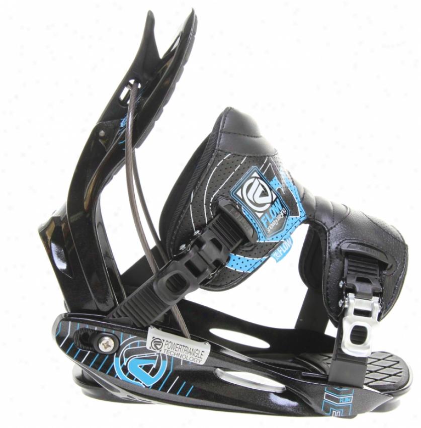 Flow M11 Snowboard Bindings Black