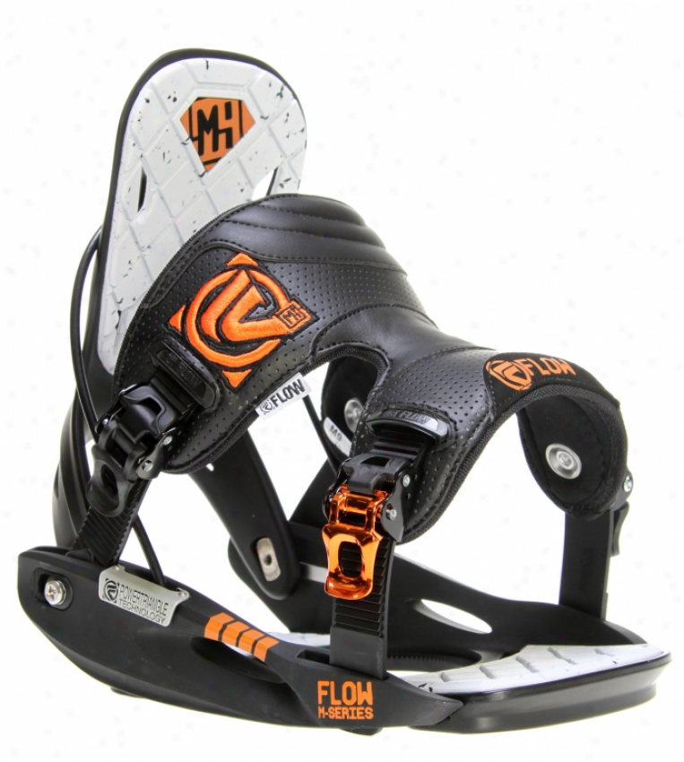 Flow M9 Snowboard Bindings Black