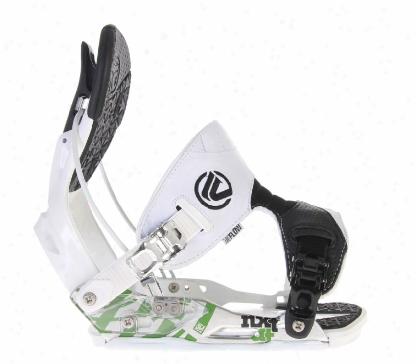 Flow Nxt-at Snowboard Bindings White
