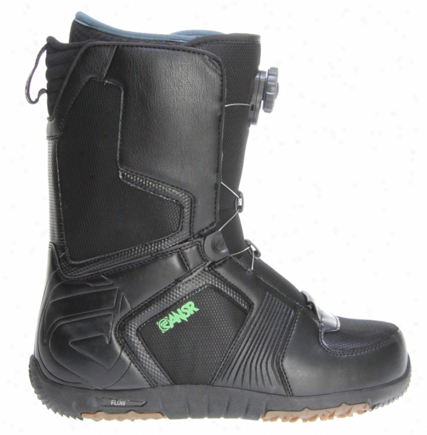 Flow The Ansr Boa Coiler Snowboard Boots Black/tan