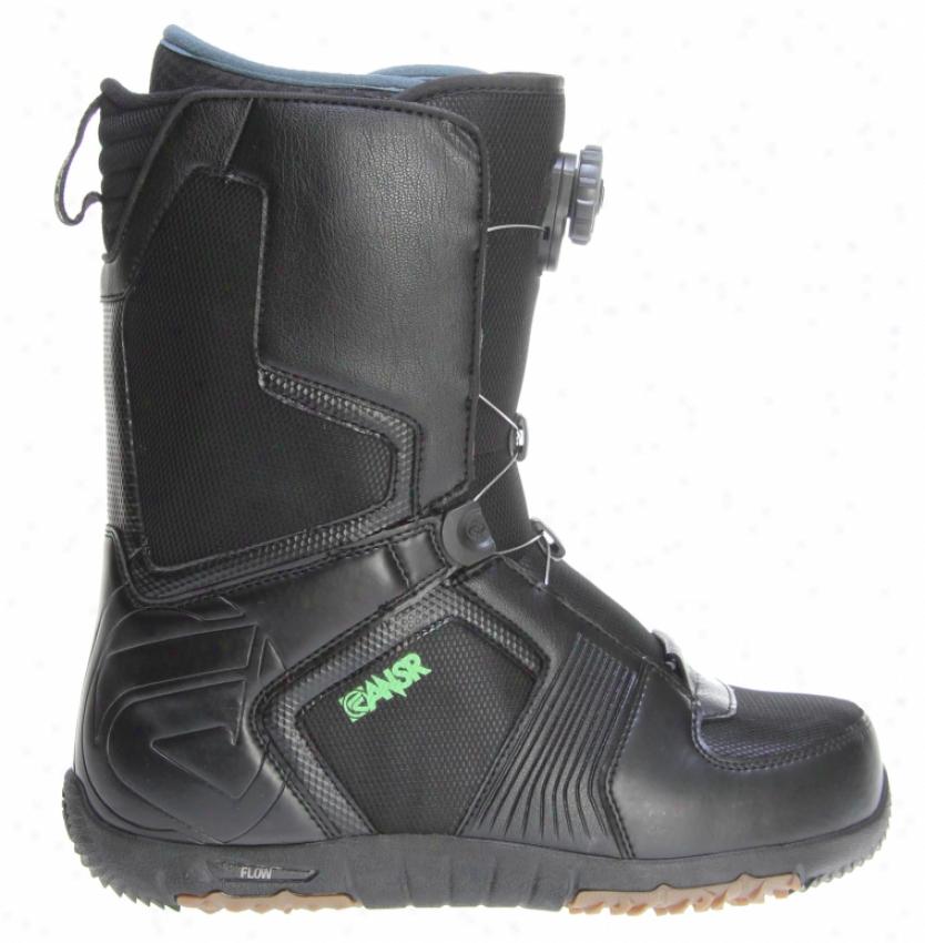 Flow The Ansr Boa Coiler Snowboard Boots Black/tan