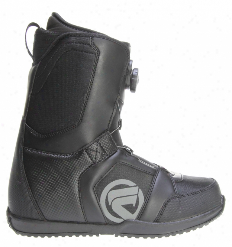 Flow The Vega Boa Snowboard Boots Black/charcoal