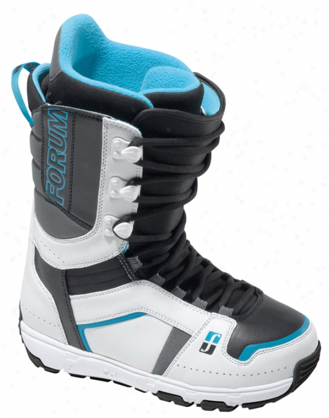 Forum Booter Snowboard Boots White/black 'n Blue